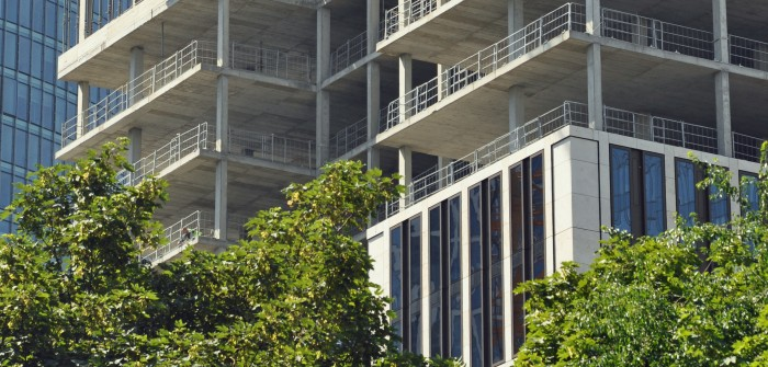 Hochhausprojekt T8 der Credit Suisse Real Estate Investment Management