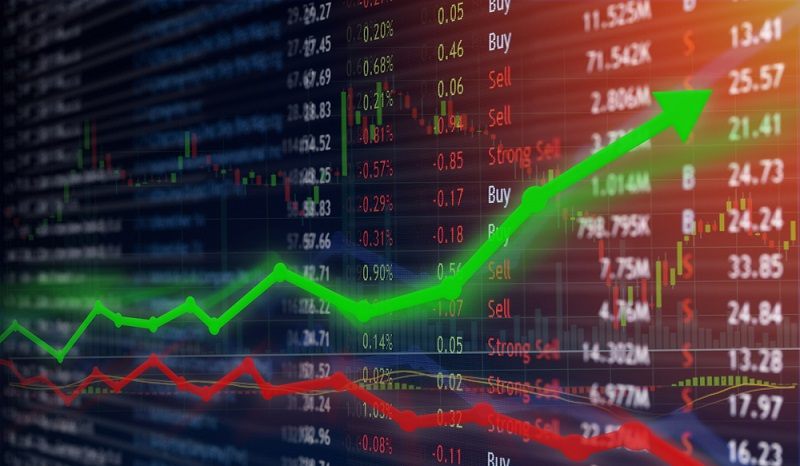 Auf einen Blick erkennen, wo man Gewinne am Aktienmarkt erzielt hat und wo mit Verlusten gerechnet werden muss. (#3)