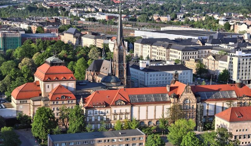 Chemnitz ist für Mieter die günstigste Stadt Deutschlands. Es die Stadt der Kulturen und sie liegt am Rand des Erzgebirges. (Foto: Shutterstock-Tupungato )